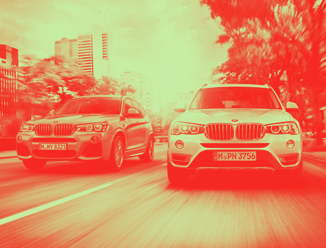 BMW X3 HTML5 banners